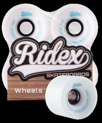 Комплект колес для лонгборда Ridex SB белый