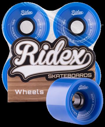 Комплект колес для лонгборда Ridex SB синий
