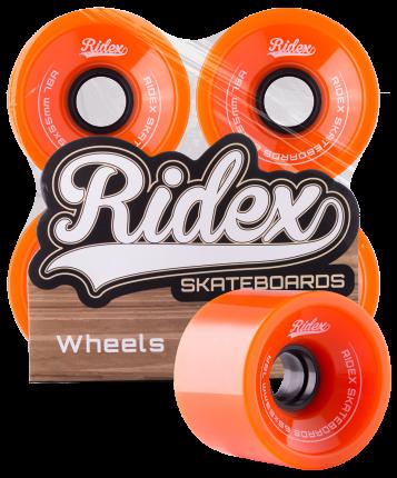 Комплект колес для лонгборда Ridex SB оранжевый