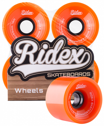 Колеса для скейтборда Ridex SB 69 мм оранжевый