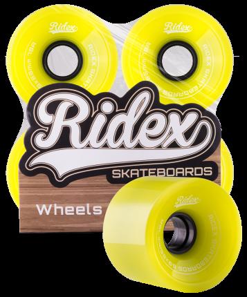 Комплект колес для лонгборда Ridex SB зелёный