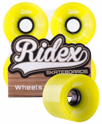 Колеса для скейтборда Ridex SB 69 мм зеленый