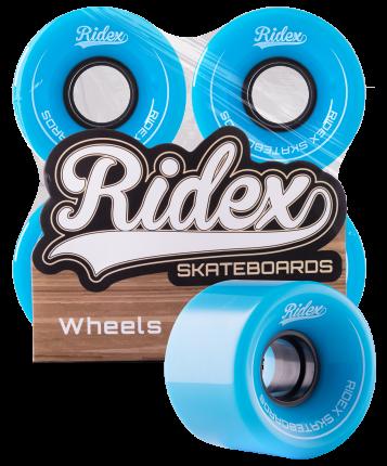 Колеса для скейтборда Ridex SB 60 мм голубой