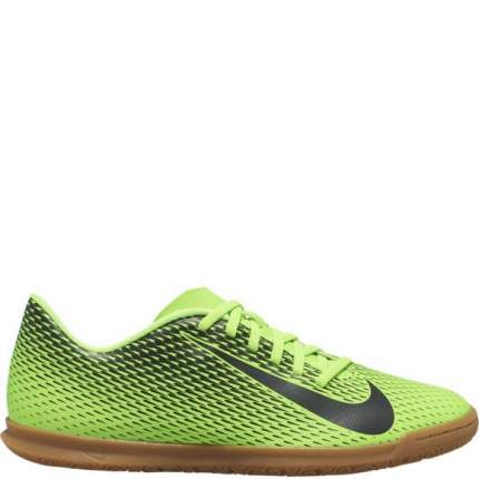 Бутсы Nike BravataX II (IC) Indoor-Competition Football Boot, electric green/black, 9.5 US