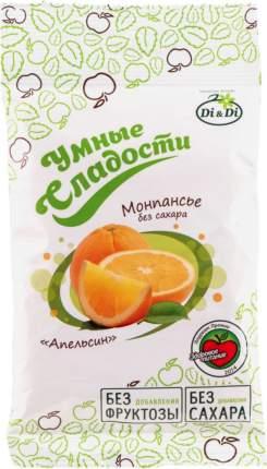 Леденцы Умные сладости без сахара апельсин 55 г