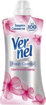 Кондиционер для белья суперконцентрат Vernel Supreme цветочный заряд 600 мл
