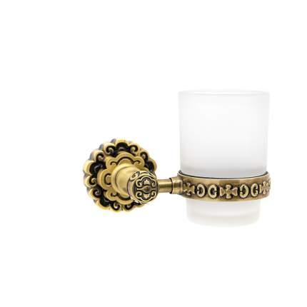 Держатель со стаканом MILACIO настенный MC.903.BR, бронза ( коллекция Villena )