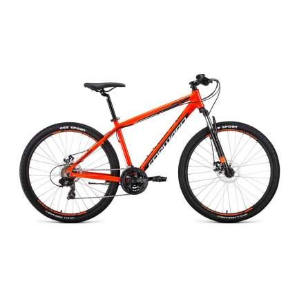 """Велосипед Forward Apache 27,5 2.0 disc 2020 21"""" оранжевый/черный"""