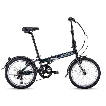 """Велосипед Forward Enigma 20 2.0 AL 2020 11"""" черный/бежевый"""