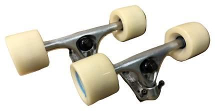 Колеса для скейтборда Ridex #1 70 мм белый/серебристый