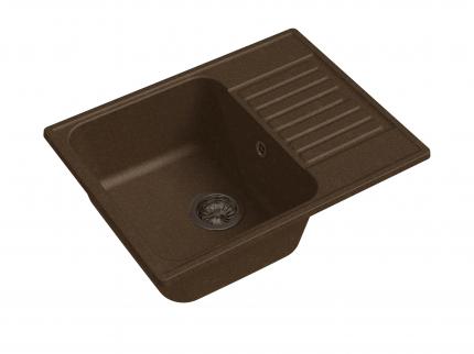 Мойка для кухни мраморная мраморная GranFest ECO Z-13 терракот