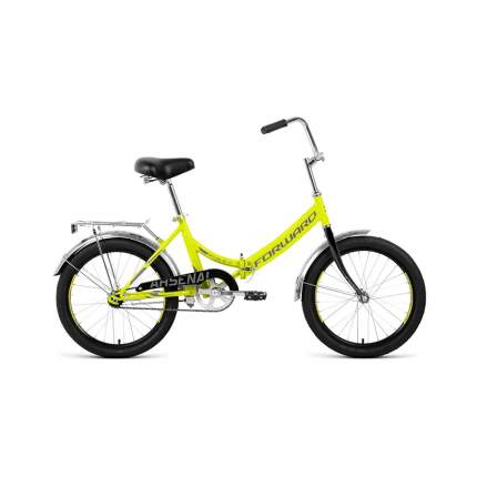 "Велосипед Forward Arsenal 1.0 2020 14"" зеленый/серый"