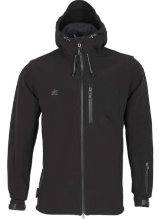 Куртка Action SoftShell черная 56-58/176-182