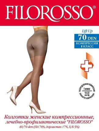 Колготки Filorosso лечебно-профилактические LIFT UP 70 den, 1 класс черный р.4