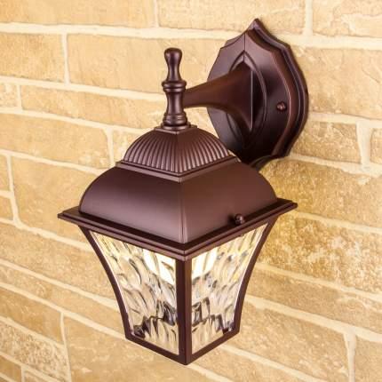 Уличный настенный светильник Apus D шоколад Elektrostandard GL 1009D