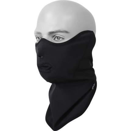Ветрозащитная маска Сплав SoftShell, черная, One Size