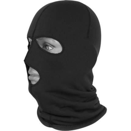 Ветрозащитная маска Сплав Polartec Power Stretch, черная, One Size