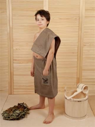 Килт для бани детский (капучино)