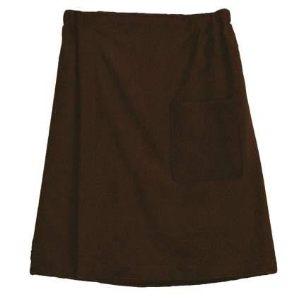 Килт мужской махровый (коричневый)