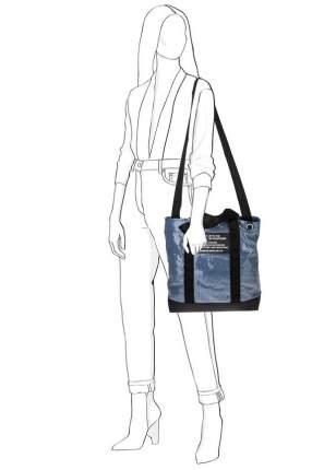 Поясная сумка женская DIESEL X06661 синяя