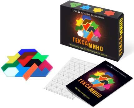 Настольная игра Нескучные игры Игра-головоломка Гексамино