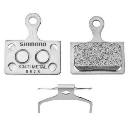 Тормозные колодки Shimano д/диск тормоза K04Ti металл Y8PU98020
