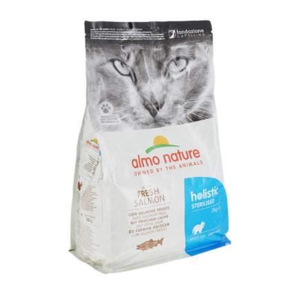 Сухой корм для кошек Almo Nature Functional Sterilised, для стерилизованных, лосось, 2кг