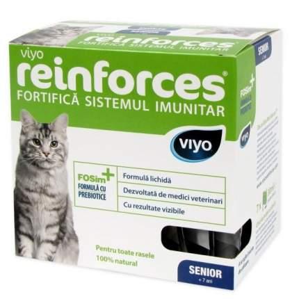 Напиток пребиотический  для пожилых кошек Viyo Reinforces Cat Senior, 30 мл
