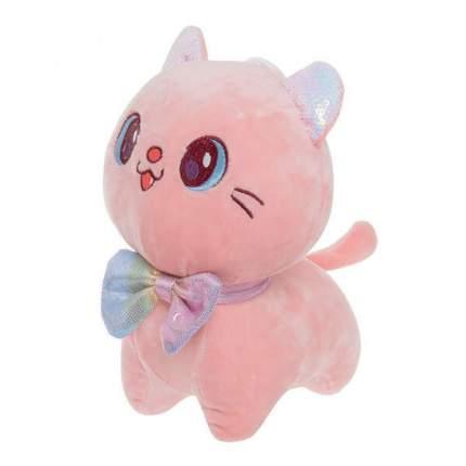 Мягкая игрушка To-ma-to Кошка розовая, 22 см