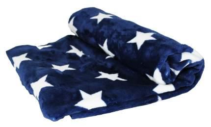 Плед для кошек и собак Монморанси Звезды на синем, 100х75 см