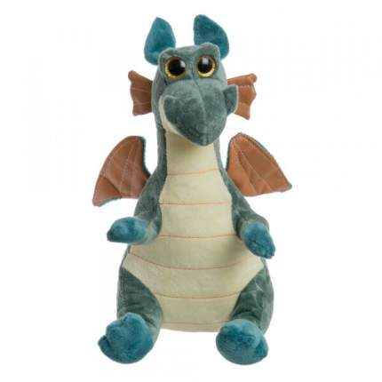 Мягкая игрушка To-ma-to Дракон зеленый, 25 см
