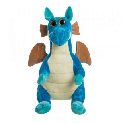 Мягкая игрушка To-ma-to Дракон синий, 25 см