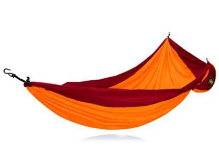 Гамак Lazy Moon Двухместный orange - burgundy