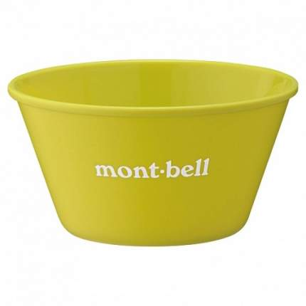 MontBell тарелка Alpine Stacking Bowl 14 LEGN светло-зеленая