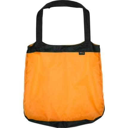 Туристическая сумка Сплав Si 1,7 л черно-оранжевая