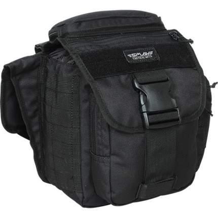 Туристическая сумка Сплав Patrol 5 л черная