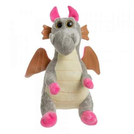 Мягкая игрушка To-ma-to Дракон серый, 25 см