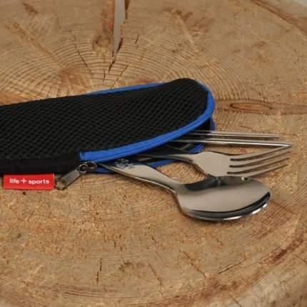 Life Sports набор General Spoon Set (вилка+ложка+палочки)