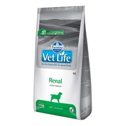 Сухой корм для собак Farmina Vet Life Renal, диетический, злаки, 12кг