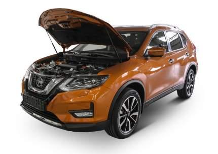 Упоры капота АвтоУПОР для Nissan X-Trail III T32 2015-2018 2018-н.в., 2 шт., UNIXTR021