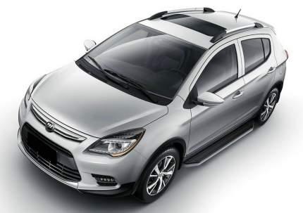 """Пороги на автомобиль """"Premium"""" Rival для Lifan X50 2015-н.в., 173 см, A173ALP.3303.1"""
