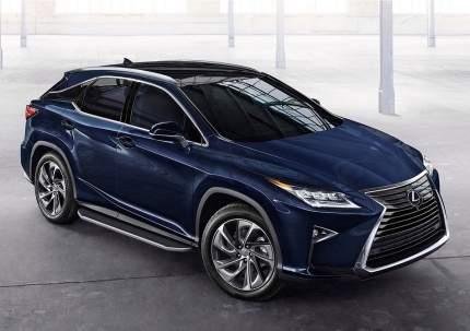"Пороги на автомобиль ""Premium"" RIVAL для Lexus RX IV 2015- 180 см, 2 шт. A180ALP.3203.1"