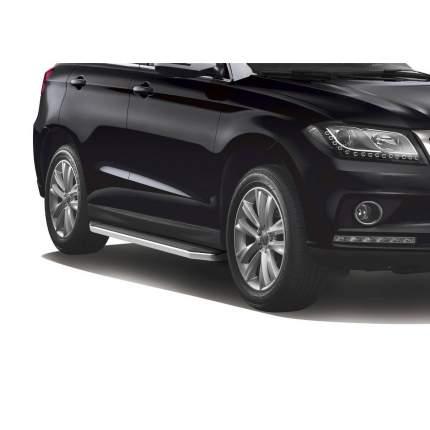 "Пороги на автомобиль ""Premium"" RIVAL для Haval H2 2014-2020, 173 см, 2 шт., A173ALP.9401.1"