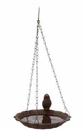Кормушка подвесная для птиц Trixie, 16 см, коричневый