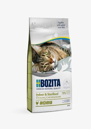 Сухой корм для кошек Bozita Indoor&Sterilized 32/14, с курицей, 400 г