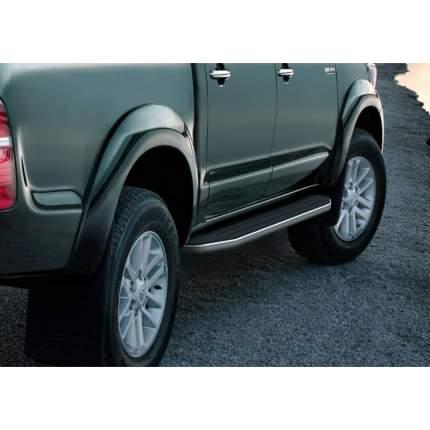 Пороги на авто RIVAL Premium для Toyota Hilux VII 2005-2015, 193 см, 2 шт. A193ALP.5703.1
