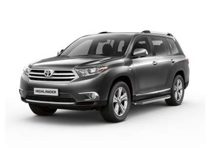"""Пороги на авто """"Premium"""" RIVAL для Toyota Highlander U40 2007-2013, 180 см, A180ALP.5704.1"""
