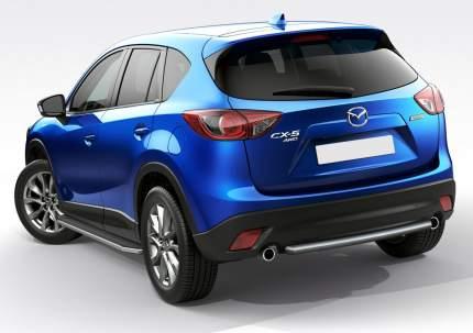 Пороги на автомобиль RIVAL Premium для Mazda CX-5 I 2011-2017, 173 см 2 шт. A173ALP.3801.3