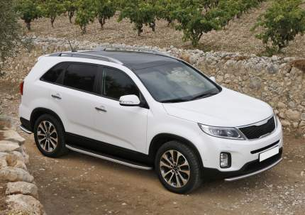 "Пороги алюминиевые ""Premium"" Rival Kia Sorento II 2012-н.в., 173 см, 2 шт., A173ALP.2305.2"