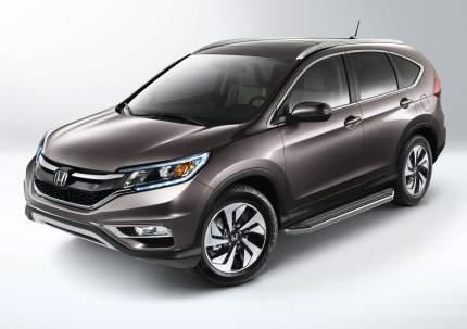 "Пороги на автомобиль ""Premium"" Rival для Honda CR-V IV 2012-2015, 173 см, A173ALP.2102.1"